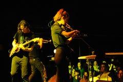 Den Fanfarlo musikbandet utför på Apolo Royaltyfri Foto