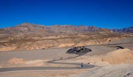 Den fantastiska Death Valley nationalparken i Kalifornien - DEATH VALLEY - KALIFORNIEN - OKTOBER 23, 2017 Arkivbilder