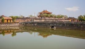 Den fantastiska gamla staden av tonen, Vietnam royaltyfri foto