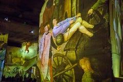 Den fantastiska och underbara världen av Bosch, Brueghel och Arcimboldo Royaltyfri Bild