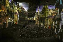 Den fantastiska och underbara världen av Bosch, Brueghel och Arcimboldo Fotografering för Bildbyråer