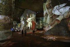 Den fantastiska och underbara världen av Bosch, Brueghel och Arcimboldo Arkivfoto