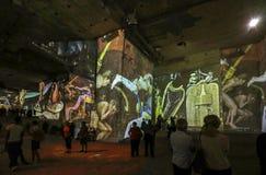 Den fantastiska och underbara världen av Bosch, Brueghel och Arcimboldo Royaltyfri Fotografi