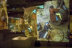 Den fantastiska och underbara världen av Bosch, Brueghel och Arcimboldo Arkivbild