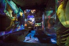 Den fantastiska och underbara världen av Bosch, Brueghel och Arcimboldo Royaltyfria Foton