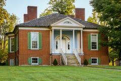 Den Farmington kolonin - Louisville Kentucky Arkivfoton