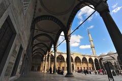 Den Fatih moskén, Istanbul Royaltyfri Bild