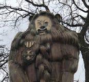 Den fega lionen arkivfoto