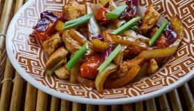 Den fega och kinesiska grönsaken steker under omrörning Royaltyfria Foton