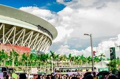 Den filippinska arenan Arkivfoton