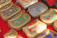 Den fina härliga lilla handväskamosaiken säljs på marknaden in I Fotografering för Bildbyråer