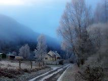 Den fjordRannoch byn Arkivfoton