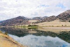 Den Flathead floden i Montana Fotografering för Bildbyråer