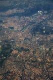 den flyg- colosseumforakullen inkluderar den roman rome för den italy palatinen sikten Royaltyfria Foton