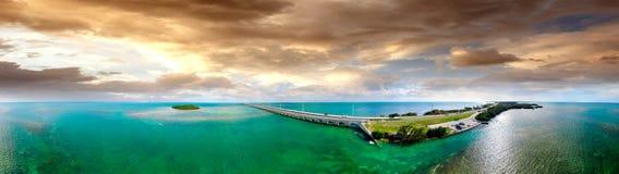 Den flyg- sikten av Florida stämmer mellanstatligt Royaltyfria Bilder