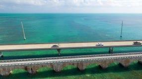 Den flyg- sikten av Florida stämmer mellanstatligt Royaltyfria Foton