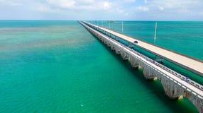 Den flyg- sikten av Florida stämmer mellanstatligt Arkivbilder