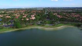 Den flyg- videoen returnerar i Doral FL 8 arkivfilmer