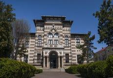 Den Folk Art Museum, kulturell institution av Constanta royaltyfri bild
