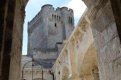 Den forntida abbotskloster av Montmajour Fotografering för Bildbyråer