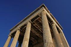 den forntida acropolisen fördärvar Royaltyfri Bild