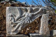 Den forntida antika staden av Efes, Ephesus fördärvar arkivbilder
