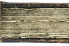 Den forntida boken Arkivbilder