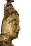 Den forntida Buddhaimagen Arkivbilder