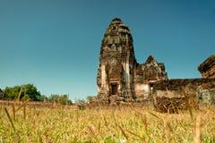 Den forntida Buddhakyrkan Arkivfoto