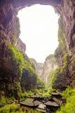Den forntida byn i trena B fotografering för bildbyråer