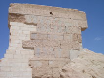 Den forntida egyptiern fördärvar i Siwa, Egypten Arkivbild