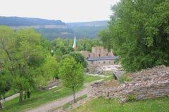 Den forntida fästningen av Veliko Tarnovo Arkivbild