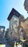 den forntida fästningen fördärvar Arkivfoto