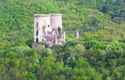 den forntida fästningen fördärvar Arkivbilder