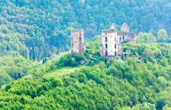 den forntida fästningen fördärvar Arkivfoton
