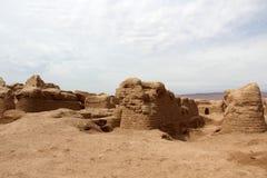 Den forntida gaochangen Arkivfoton
