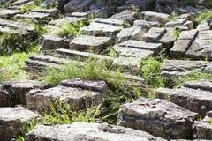 den forntida greken fördärvar Arkivfoto