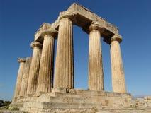 den forntida greken fördärvar royaltyfria foton