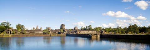 Den forntida kambodjanska templet fördärvar storslaget slottbegrepp Arkivbild