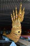 Den forntida kungliga Anantanakarajen rusar in museet av kungliga pråm Bangkok Thailand Royaltyfri Bild