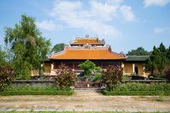 Den forntida läs- imperialistiska paviljongen Thai Binh i Forbiddenet City på en solig dag Ton Vietnam arkivfoton