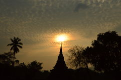 Den forntida pagodaen arkivbilder