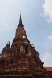 den forntida pagodaen fördärvar Fotografering för Bildbyråer