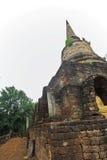 Den forntida pagoden av Sri Sacha Na Lai parkerar, Su thailändska Kho, Thailand Arkivbilder
