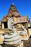 Den forntida slotten, Thailand Arkivfoton