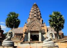 Den forntida slotten, Thailand Royaltyfri Foto
