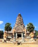 Den forntida slotten, Thailand Arkivbilder