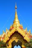 Den forntida slotten, Thailand Arkivbild