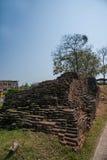 Den forntida staden av Chiang Mai, Thailand forntida vägg Royaltyfria Foton