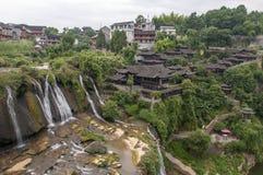 Den forntida staden av FuRong Royaltyfria Bilder